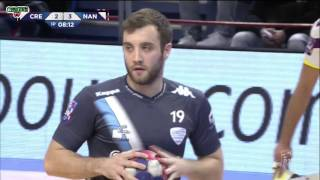 Creteil France  City pictures : Créteil VS Nantes Handball LNH D1 2015 2016 17e journée