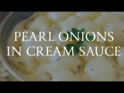 Pearl Onions In Cream Sauce