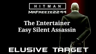 Walkthrough/guide of how to complete elusive target 26 The Entertainer with a silent assassin rating in MarrakeshHitman - Elusive Targets Full Playlist: https://www.youtube.com/playlist?list=PLdeeW1xZ0DlOHMUep4iWGWsmjnd1F2i33Subscribe if you're new to the channel for more episodes. Thank you very much for watching and i'll see you in the next video, cheers :)To support the channel become a patron:https://youtu.be/y5L8velWHGwClick the link for more info regarding donating to me and supporting the channel to help me get the equipment i need to make content covering older hitman series and splinter cell series:http://www.patreon.com/MrFreeze2244Current Patrons:Timothy PhanPlayerx54Nathan HoodKevin SaintDavid ParrottTom FennessyRodney MooreEddie ShanksKing OsirisPhillippe LesquinMiles WeaverChris MartinBishop NelsonTim TimsenRay DukeBerian WilliamsMatt JaggermouthDan CarterJonathan PletschEric HugginsPeter BlightanNick TaylorSean RubinHarnaam JandooSpeedsterRunner214Travis KessingerTrickyAndrew ZhangKateRachel van der Meer (Miss Stabby)Follow me on Twitter: http://www.twitter.com/MrFreeze2244Join my new Discord server:https://discord.gg/x7eM5VyFollow me on Twitch:http://twitch.tv/MrFreeze2244Add me on PSN: freeze2244 or Mr-Freeze-2244