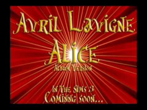 Avril Lavigne - Alice [Trailer][Sims3][Offical video]