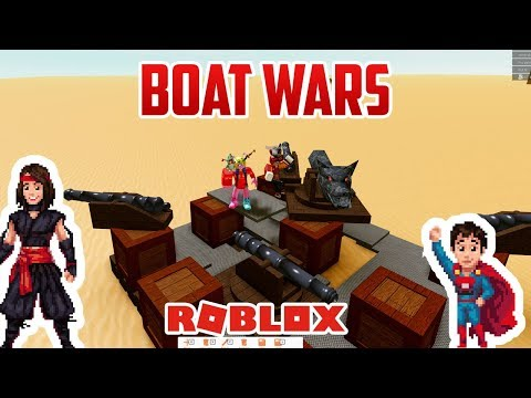 BOAT WARS!!! Roblox Whatever Floats Your Boat