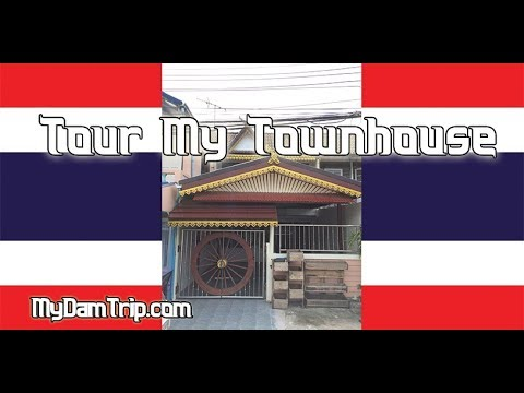 A Tour Of My Townhouse In Thailand