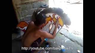 Pembuatan Kuda Lumping di Klaten