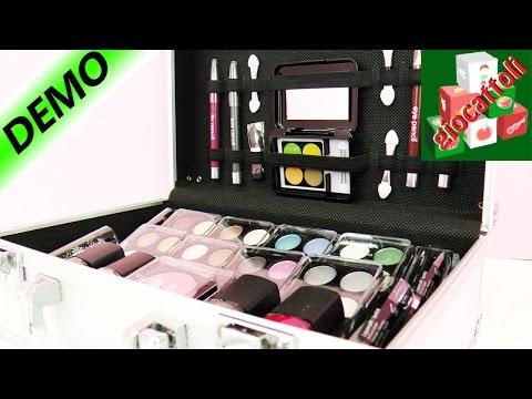 Valigia di trucchi per ragazze: Make Up professionale direttamente con voi!