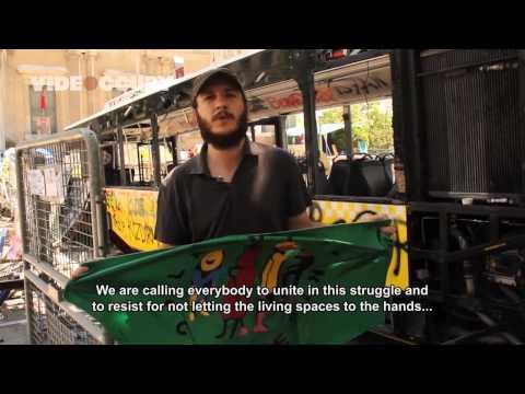 """Córdoba'dan Gezi Parkı direnişine  """"durankadın ve duranadam"""" eylemi!"""