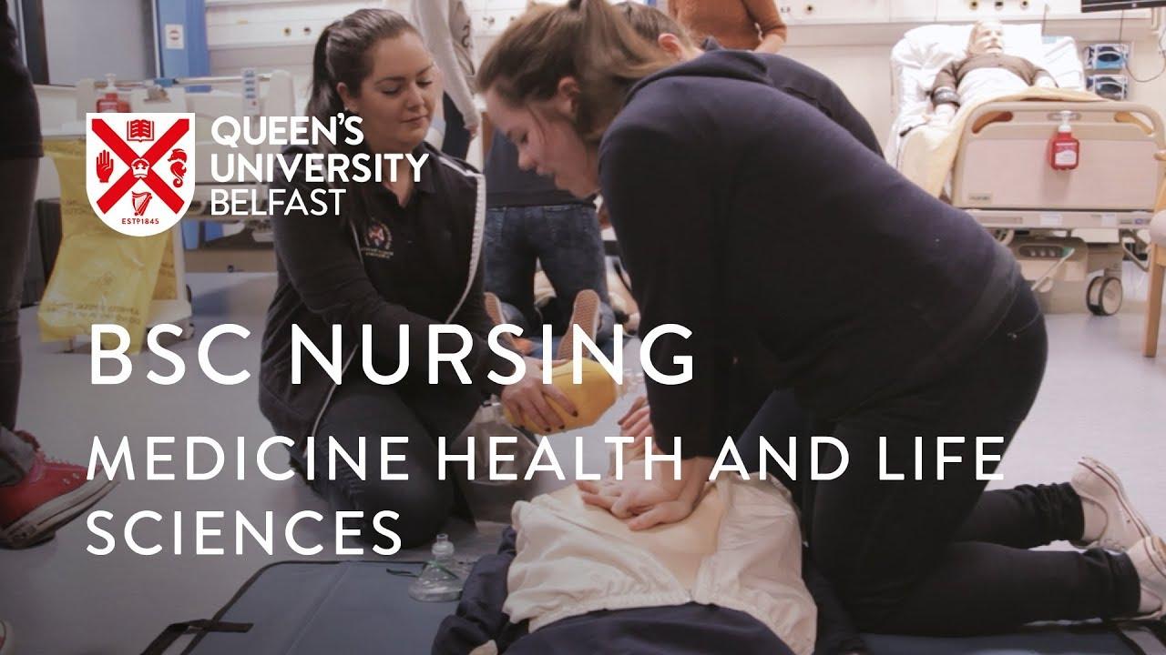 Undergraduate Nursing at Queen's University Belfast