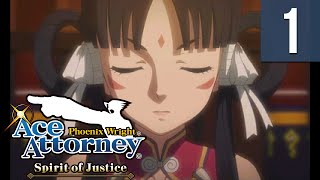 Nonton Phoenix Wright: Spirit of Justice #01 ~ The Foreign Turnabout - Trial, Day 1 (1/7) Film Subtitle Indonesia Streaming Movie Download