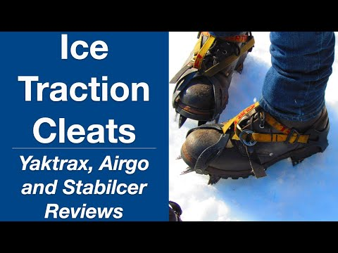 Video Review of Ice Cleats for Walking on Snow and Ice