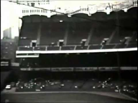 yankee stadium - Rare footage of Old Timer's Day at the old Yankee Stadium, August 11, 1973.