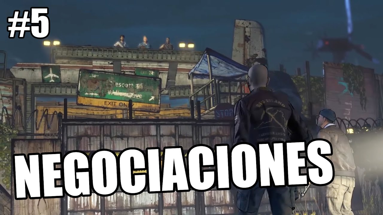 Ver NEGOCIACIONES – The Walking Dead (Temporada 3) A New Frontier #5 en Español Online