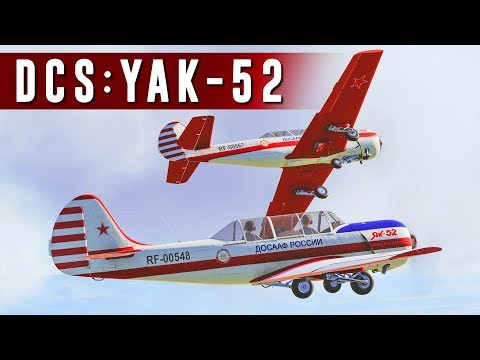 The Yakovlev Yak-52 is a tandem...