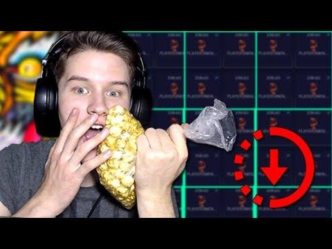 Фроксай даже попкорн взял Поднял 1300 долларов на большом коэффициенте - DomaVideo.Ru