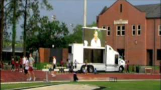 FSU Track Event Broadcasted on LED Truck