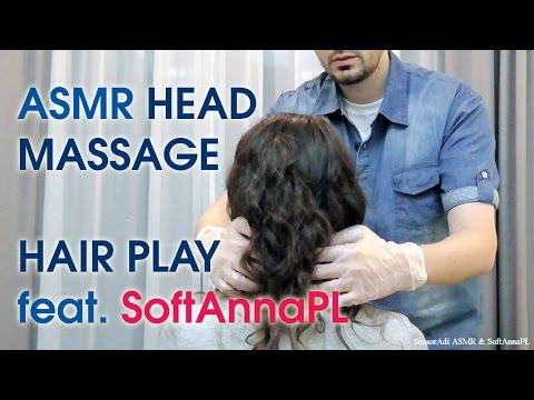 Video Taking Care of SoftAnna. Vibrating Head Massage & Hair Play (Pure Binaural ASMR) download in MP3, 3GP, MP4, WEBM, AVI, FLV January 2017