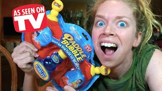 PADDLE BUBBLES- DOES THIS THING REALLY WORK? by GRAV3YARDGIRL