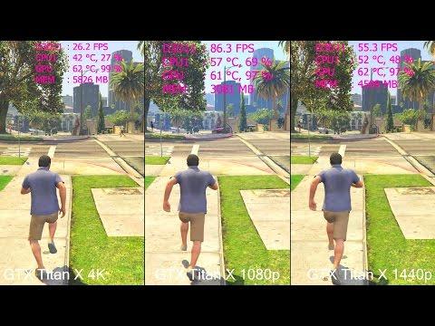 gta 5 1080p vs 1440p vs 4k gtx titan x f