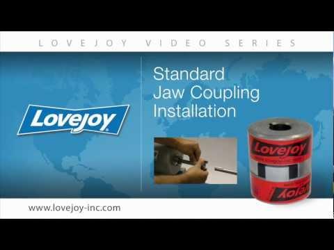 Lovejoy Standard Jaw Coupling Installation Video thumbnail