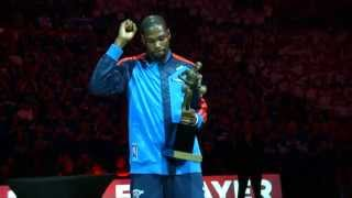 Phantom: Kevin Durant Gets the MVP Trophy