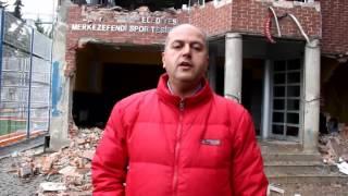 Merkezefendispor Kulüp Binası Zeytinburnu Belediyesi Tarafından Yıkıldı