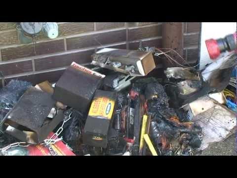 Korbach: Kellerbrand durch defekten Akku