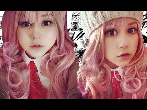 Anime makeup! ♥ Miku