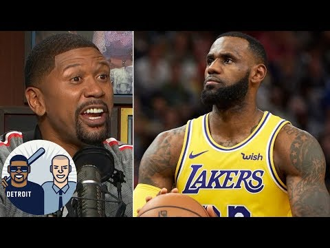 Video: Teams should start intentionally fouling LeBron - Jalen Rose | Jalen & Jacoby