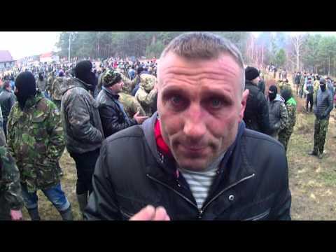 У мережі з'явилось відео перестрілки бурштинокопачів з правоохоронцями поблизу Клесова [увага, ненормативна лексика]