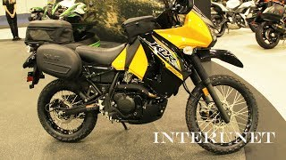 7. 2018 Kawasaki KLR 650 – new dual purpose motorcycle