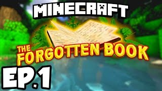 Minecraft: THE FORGOTTEN BOOK Ep.1 - ANCIENT ABANDONED TEMPLES!!! (Custom Adventure Map)