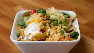 Easy Chicken Fajita Bowls by Tasty