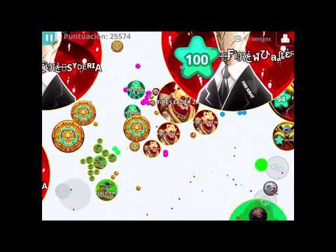 FiRE Clan//destroying Itz Clan//TEAM FIRE Epic Dominated//Agar.io Mobile