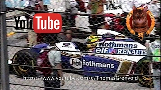 This is my previously unreleased footage from the notorious Formula 1 San Marino Grand Prix in Imola May 1, 1994, as seen and ...