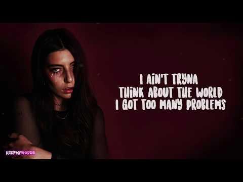 DeathbyRomy - Problems ( Lyrics )