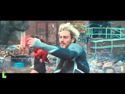 All Quicksilver Running Scenes (age Of Ultron & X-men) | Quicksilver(marvel) Vs. The Flash(dc) Hd