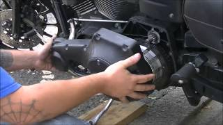 10. 2005 Harley Dyna FXDX starter replacement