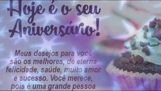 Mensagem para amiga - Video Mensagem de Aniversário Especial para Amigo a Feliz Aniversário HAPPY birthday