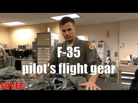 What kind of kit the F-35 pilots...
