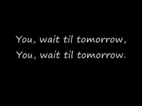 Silverchair-Tomorrowwith fancy lyrics