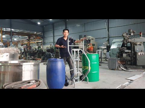 Hướng dẫn sử dụng xe đẩy thùng phuy đa năng DE 500GC Lh 0909 216 299