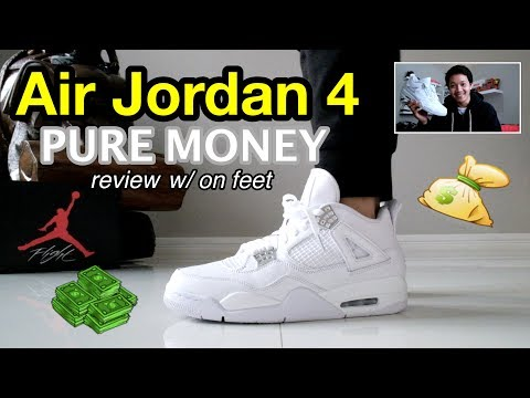 Air Jordan 4 PURE MONEY Review W/ On Feet (Bahasa Indonesia)