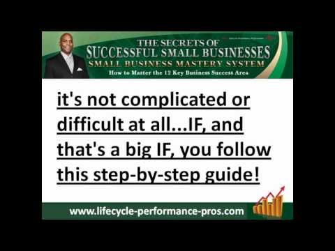 Small Business Mastery System 2