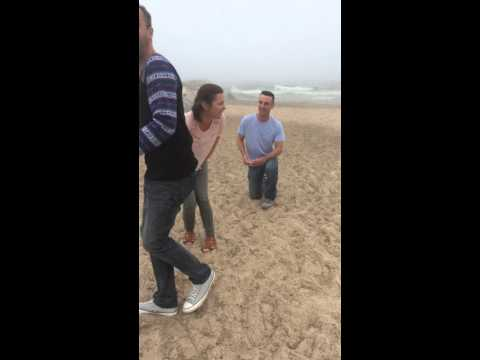 BEST proposal ever! Mother face plants during it!