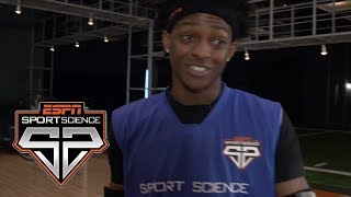 De'Aaron Fox's acceleration in his Sport Science test proves faster than Kyrie Irving's. Watch ESPN on YouTube TV:...