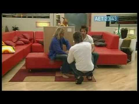 Big Brother 4 Australia - THE FIGHT - Part 1