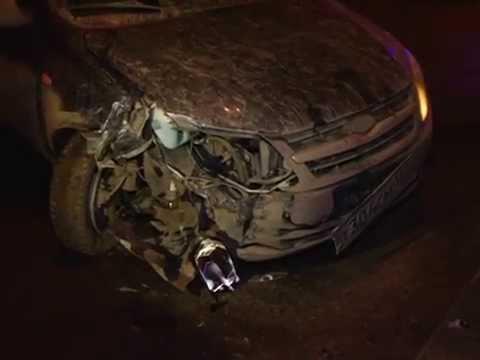 Пьяный тольяттинец без прав протаранил автомобиль ДПС в Самаре