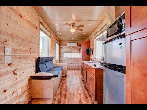 Single Story Tiny House For Work/Live Lifestyle