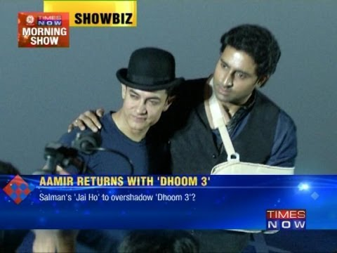 abhishek bachchan - Katrina Kaif and Uday Chopra were missing but Aamir Khan made up for their absence at the launch of upcoming film 'Dhoom 3'. From having creative differences...