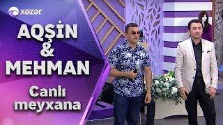 Mehman Əhmədli və Aqşin Fateh canlı efirdə meyxana.