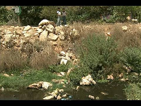 Israeli sewage-dumping affects Palestinian villages
