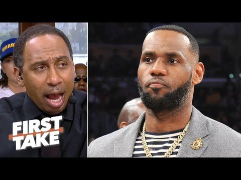 KD's injury may benefit LeBron and the Lakers the most in free agency - Stephen A. | First Take